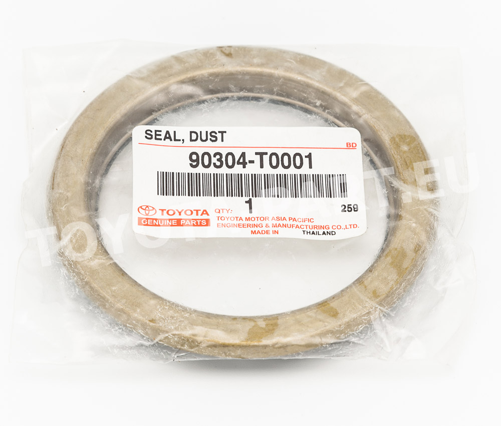 Www Toyota Parts: 90304-T0001 - SEAL, DUST (FOR FRONT AXLE HUB RH)